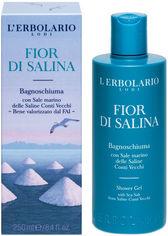 Акция на Пена для ванн Lerbolario Соленый бриз 250 мл (2214010003151/8022328102022) от Rozetka
