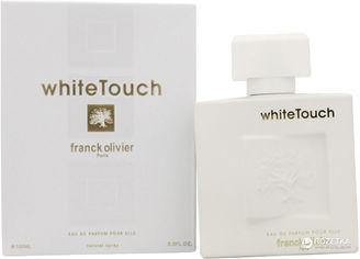 Акция на Парфюмированная вода для женщин Franck Olivier White Touch 100 мл (3516640917310) от Rozetka
