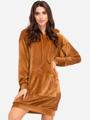 Платье ISSA PLUS 11155 M Коричневое (issa2000183290579) от Rozetka