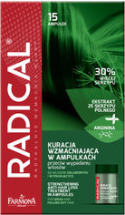 Акция на Концентрат против выпадения волос Farmona Radical укрепляющий 5 мл х 15 шт (5900117005644) от Rozetka