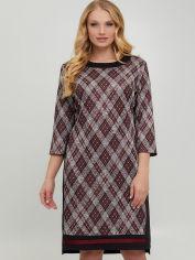Платье All Posa Доната 1422-1 52 Бордовое от Rozetka