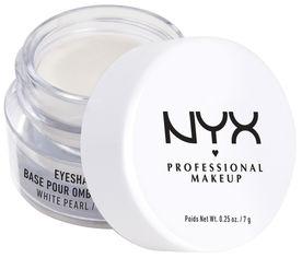 Праймер NYX Professional Makeup Eye Shadow Base 02 White Pearl 7 г (800897138042) от Rozetka