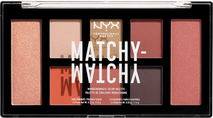 Палетка теней для век и пудр для лица NYX Professional Makeup Matchy Matchy 03 Camel 14.8 г (800897197568) от Rozetka