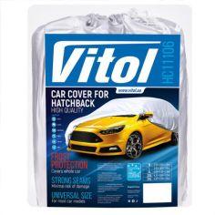 Акция на Тент автомобильный Vitol HC11106 XXL Серый от Rozetka