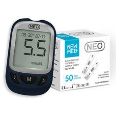 Акция на Акционный набор! Глюкометр NEO + 50 тест-полосок NewMed от Medmagazin