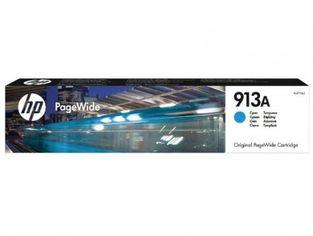 Акция на Картридж струйный HP No.913A PageWide 352/377/452/477 Cyan (F6T77AE) от MOYO