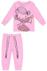 Пижама (футболка с длинными рукавами + штаны) Minoti Pyja 4 13525 92-98 см Розовая (5059030348793) от Rozetka