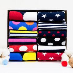 Акция на Набор носков The Pair of Socks Big Box 0797 12 пар 38-40 Разноцветный (ROZ6206119173) от Rozetka