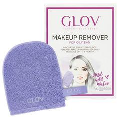 Акция на Рукавичка для снятия макияжа Glov Expert Oily and Mixed Skin Сиреневая (5902768711080) от Rozetka