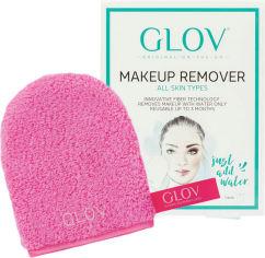 Рукавичка для снятия макияжа Glov On The Go Розовая (5902768711325) от Rozetka