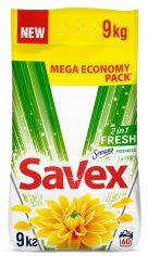 Акция на Стиральный порошок Savex Parfum Lock 2in1 Fresh 9 кг (3800024045912) от Rozetka
