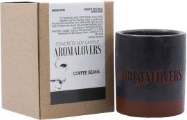 Ароматическая соевая свеча в бетоне Aromalovers Кофейное зерно 240 г (ROZ6300000928) от Rozetka
