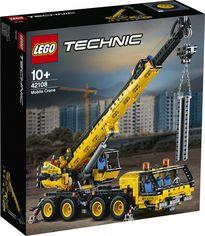 Конструктор LEGO Technic Мобильный кран 1292 детали (42108) от Rozetka