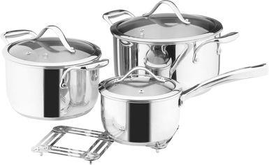 Набор посуды Vinzer Chef 89028 из 7 предметов от Rozetka