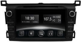 Акция на Автомагнітола штатна Gazer CM6008-A40 для Toyota RAV 4 (A40) 2013-2016 от Територія твоєї техніки