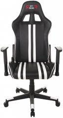 Кресло для геймеров GT RACER X-2504-M Black/White от Rozetka
