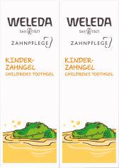 Набор Weleda Зубной гель для детей 2 шт х 50 мл (9777000000000) от Rozetka