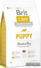 Акция на Сухой корм для щенков всех пород Brit Care Puppy All Breed Lamb & Rice 3 кг (8595602509805) от Rozetka