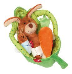 Акция на Мягкая игрушка Sigikid Люлька для кролика (41687SK) от MOYO