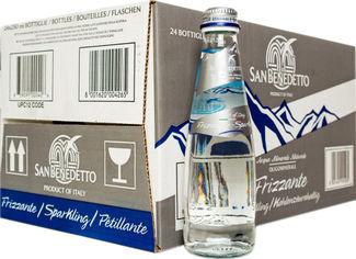 Упаковка минеральной воды San Benedetto газированной 0.25 л х 24 бутылки (8001620004265) от Rozetka