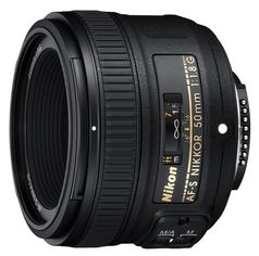 Объектив Nikon 50 mm f/1.8G AF-S Nikkor (JAA015DA) от Eldorado