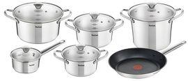 Набор посуды TEFAL Simpleo 11 предметов (B815SB74) от Eldorado