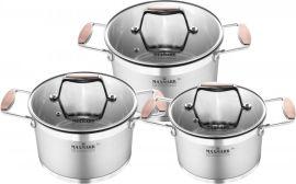 Набор посуды MAXMARK PRO Cooper 6 предметов (MK-LX3206A) от Eldorado