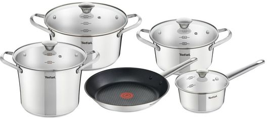 Набор посуды TEFAL Simpleo 9пр (B815S974) от Eldorado