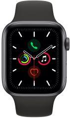 Акция на Смарт-часы Apple Watch Series 5 GPS 44mm Grey Aluminium Case Sport Band (MWVF2) от Eldorado