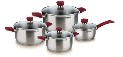 Набор посуды RONDELL Strike 8 предметов (RDS-818) от Eldorado
