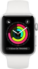 Акция на Смарт-часы Apple Watch S3 GPS 38mm Silver Aluminium (MTEY2FS/A) от Eldorado