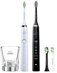 Зубная щетка PHILIPS Sonicare DiamondClean HX9334/41 2 шт.(W+B) от Eldorado