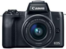 Фотоаппарат CANON EOS M50 Kit 15-45 IS STM Black (2680C060) от Eldorado