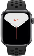 Акция на Смарт-часы Apple Watch Nike Series 5 44mm Grey Aluminium Case SBand (MX3W2) от Eldorado