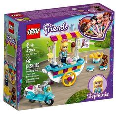 Конструктор LEGO Friends Тележка с мороженым (41389) от MOYO