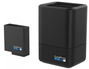 Акция на Зарядное устройство GoPro Dual Battery Charger + Battery для HERO7 Black, HERO6 Black, HERO5 Black, HERO (AADBD-001-RU) от MOYO