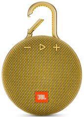 Акция на Портативная акустика JBL Clip 3 (JBLCLIP3YEL) Yellow от Територія твоєї техніки