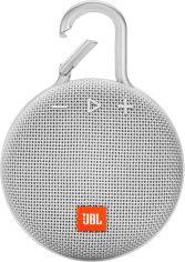 Портативная акустика JBL Clip 3 (JBLCLIP3WHT) White от Територія твоєї техніки