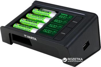 Зарядное устройство Varta LCD Smart Charger 4x2100 мАч NI-MH АА USB (57674101441) от Rozetka