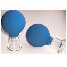 Банки сухие вакуумные полимерно-стеклянные №2 в инд. упаковке для шейного массажа Альпина Пласт от Medmagazin