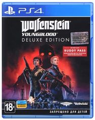 Игра Wolfenstein: Youngblood. Deluxe Edition (PS4, Русские субтитры) от MOYO