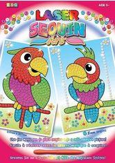 Акция на Набор для творчества Sequin Art LASER Parrots (SA1319) от MOYO