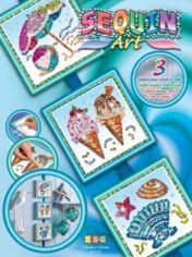 Акция на Набор для творчества Sequin Art SEASONS Summer (SA1418) от MOYO