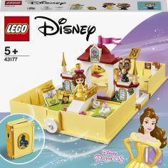 Акция на Конструктор LEGO Disney Princess Книга сказочных приключений Белль (43177) от Будинок іграшок