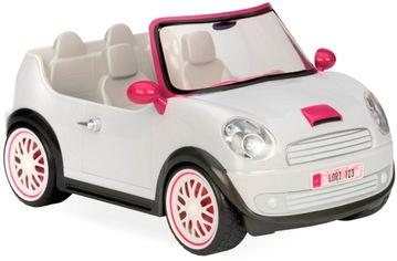 Акция на Транспорт для кукол Lori Машина Белая (LO37002Z) от Rozetka
