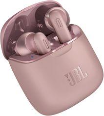 Акция на Наушники JBL Tune 220 TWS Pink (JBLT220TWSPIK) от Rozetka