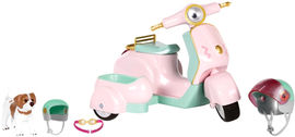 Транспорт для кукол Lori Скутер с коляской и собачкой (LO37034Z) от Rozetka