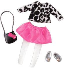 Акция на Набор одежды для куклы Lori Очень стильной с юбкой (LO30024Z) от Rozetka