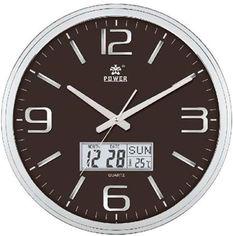 Настенные часы Power 566BLKS от Rozetka