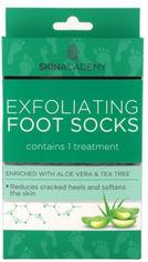 Акция на Пилинговые носочки для ног Skin Academy Aloe Vera & Tea Tree 1 пара (5031413988000) от Rozetka